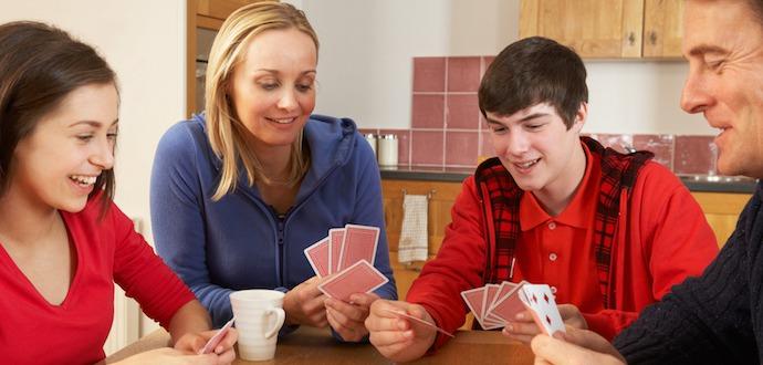 Hra pre rodinu a deti - Pravidlá žolíka - kartové hryl