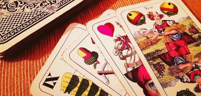 Kartová hra klasická sedma
